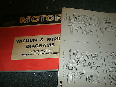 1972 1973 ford pinto oversized wiring diagrams schematics sheets set vintage