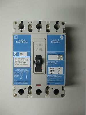 Cutler-Hammer FDC 200 amp Circuit Breaker, 600V, FDC3200, Style 3A16290G59