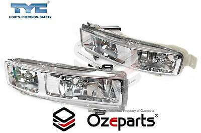 Pair LH+RH Fog Light Spot Driving Lamp For Holden Statesman Caprice WK WL 03~06