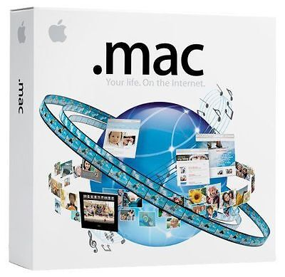 Mac .Mac 5.0 Family Pack - Apple Computer Software : Brand NEW Sealed
