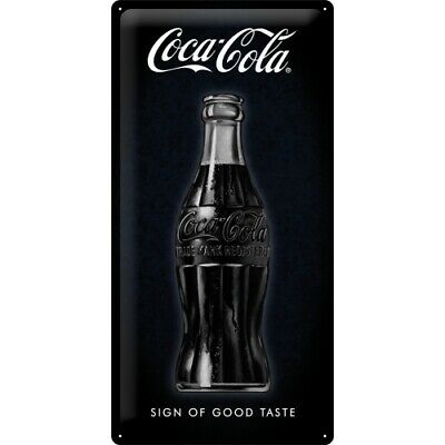 Blechschild Coca Cola Good Taste,Nostalgie Schild 50 cm ! ! !,NEU,Metal shield