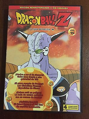 Dragon Ball Z Dvd 15 - Caps 57 A 60 - 100Min - Ed Remasterizada Sin Censura Toei