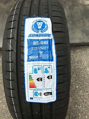 Pneumatici Gomme ESTIVE 215 55 R17  98 W   SUNWIDE RS-ONE S0641H DOT 2016