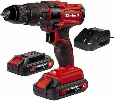 einhell 18v cordless drill driver screwdriver battery in case bt cd18 eur 36 59 picclick fr. Black Bedroom Furniture Sets. Home Design Ideas