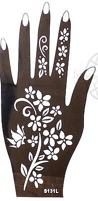 Henna Tattoo Schablone Vorlage Airbrush Tattoo Body Paint Linke Hand