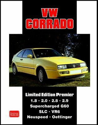 VW Corrado Limited Edition Premier New Paperback Book