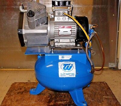 Techwest dental 6 gal air compressor
