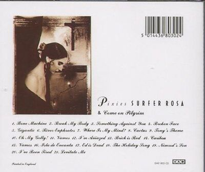 Pixies - Surfer Rosa/Come on Pilgrim (CD)