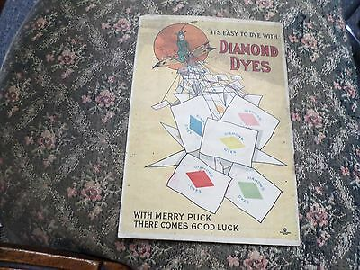 Vintage advertising for Diamond Dyes