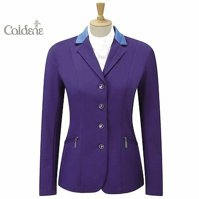 Caldene Ladies Scope Riding Show Jumping Fitted Stretch Shell Jacket WAS £120
