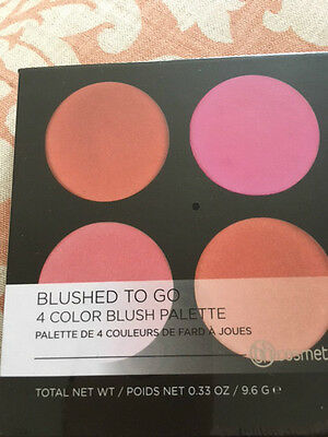 bhcosmetics Blushed To Go 4 Colour Blush Palette