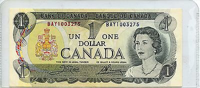Uncirculated 1973 Bank of Canada $1 Note SA187