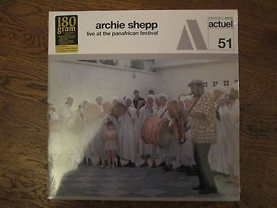 ARCHIE SHEPP Live at the Panafrican festival 180gram NEW/MINT/SEALED LP 529 351