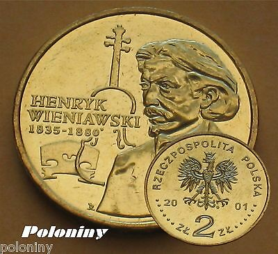 Coin Of Poland - Henryk Wieniawski (Mint) Composer