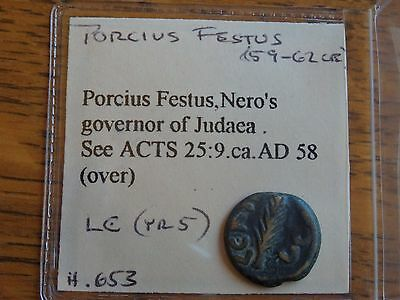 QUALITY AE of PORCIUS FESTUS!!!  See Acts 25:9