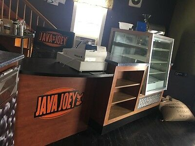 custom cabinet for coffee shop or restaurant