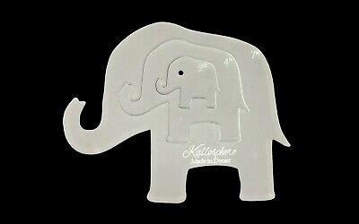"""A Trio Of Elephant Sewing And Craft Templates - 7"""" X 5"""""""