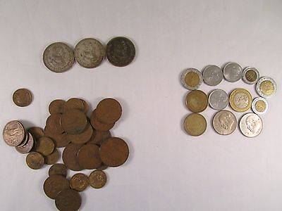 Very Nice Lot of Mexico Coins Some Silver