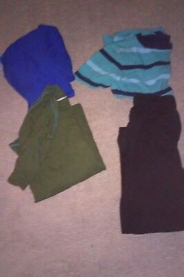 Mixed Lot of Boys Clothes Sweat pants T-shirts Size 6/7 M Old Navy
