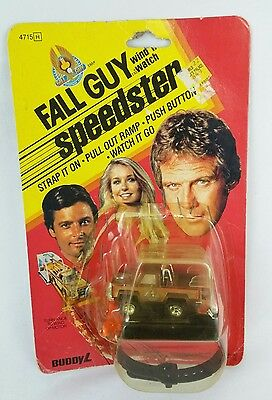 Scarce 1981 Fall Guy Buddy L Speedster Wind n Watch New With Stapled Cardback
