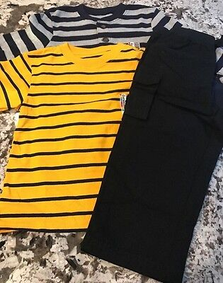 Nwt Toddler Boy (3) Piece Clothing Lot Size 2T