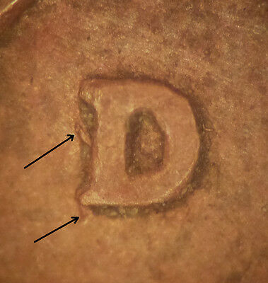 1944 D/S Lincoln Wheat Cent Over Mint Mark OMM #2 FS-01-1944D-502 (21)