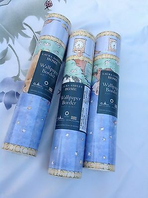 Laura Ashley Hey Diddle Diddle Wallpaper Border Lot Of 3 Rolls
