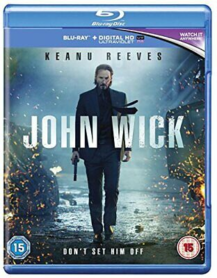 John Wick [Blu-ray] [2015] [Region Free] - DVD  HYVG The Cheap Fast Free Post
