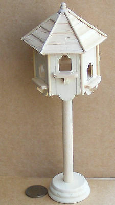 1:12 Scale Dolls House Miniature Natural Finish Dovecote Garden Pet Accessory