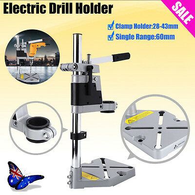 Hole Bench Drill Press Stand Cast Metal Base Frame for Drilling Collet 38/43mm D