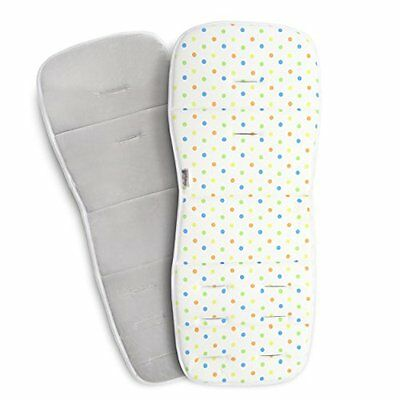 Coney Island Cotton Stroller Pad Universal Size Breathable Support Cushion Un...