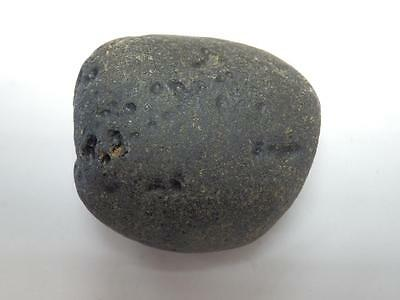 Black Indochinite Tektite Stone from China - 30 gram (35x32x20 mm)