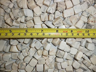 Tumbled Stone Howlite Stone small size pieces 500 gram Lot