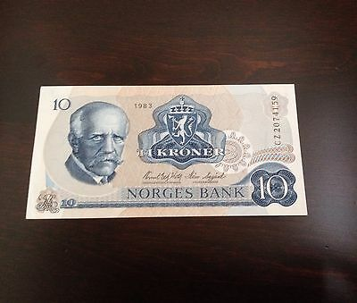 $10 Ti Kroner Norges Bank