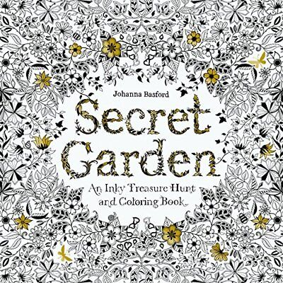 Adult coloring of 1 books relieve stress new Coloring Book secret garden