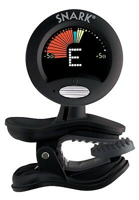 Snark Guitar, Bass and Violin Clip On Tuner - Black (SN5X)
