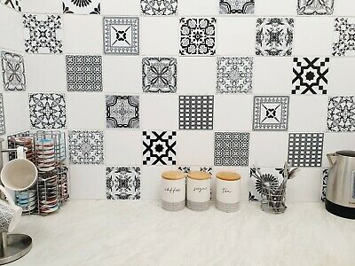 Mosaic Stickers Transfers for 150mm x 150mm / 6 Inch Kitchen Bathroom Tiles C20
