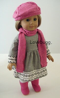 "Fair Isle 4 pc Dress Set Clothes for 18"" American Girl Doll Clothes Found It"
