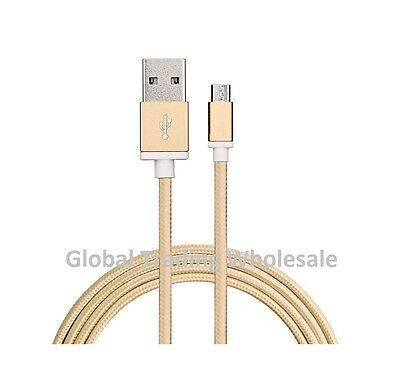Wholesale Bulk Buy Job Lot x10 Premium Quality Nylon & Copper Micro USB Cables G