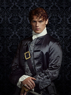OUTLANDER photo SAM HEUGHAN  Jamie Fraser  new rare photo 4X6 picture #2