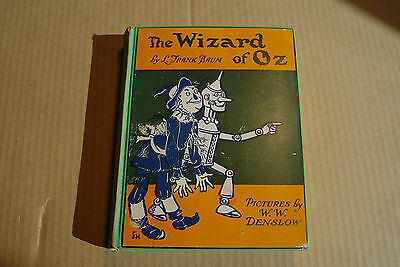 Vintage Wizard of OZ Books lot of 2