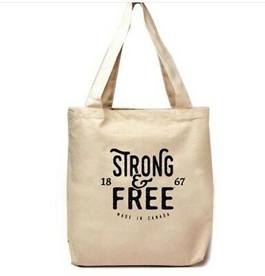 Canada Strong And Free tote bag