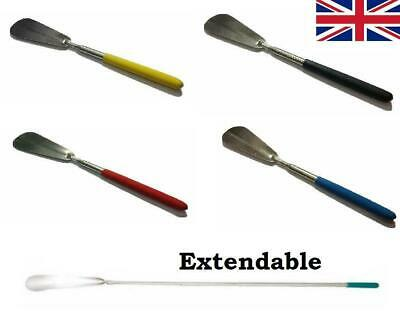 Extendable Metal Shoe Horn Handle Long Remover Shoehorn Handheld Shoes