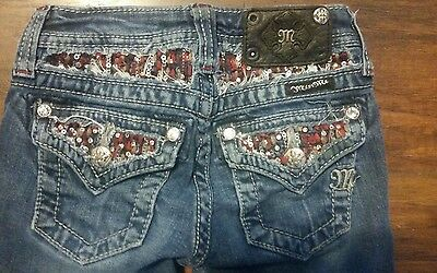 Miss me jeans girls size 8