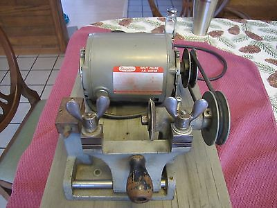 Vintage F.W. Stewart MFG CO Working Vintage Key Machine Model 8100 S/N 1048
