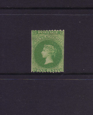 SA Sg 51,Sc#29a; 1867-70 1d Bright green PERF 11½-12½ x ROULETTE,MINT.£350