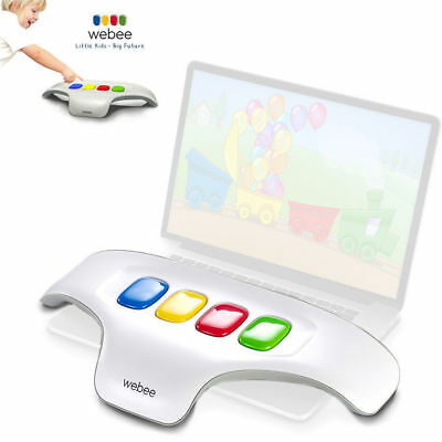 WEBEE Keyboard Controller + 20 Games Educational for PC Computer Kids/Children