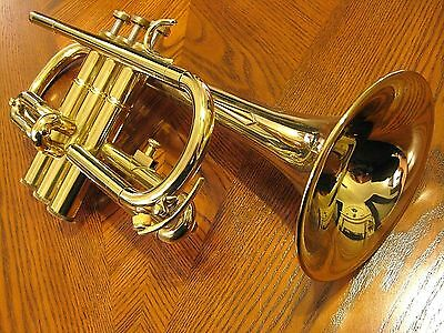 Besson Amati Eb Cornet, Brand New with Lacquer Finish, Stencil Made by Besson