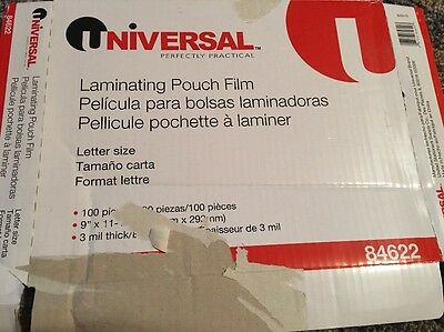 Universal Clear Laminating Pouches - 84622