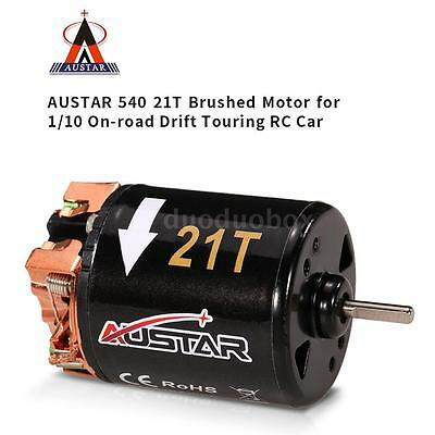 AUSTAR 540 21T Brushed Motor for 1/10 On-road Drift Touring RC Car F1U2